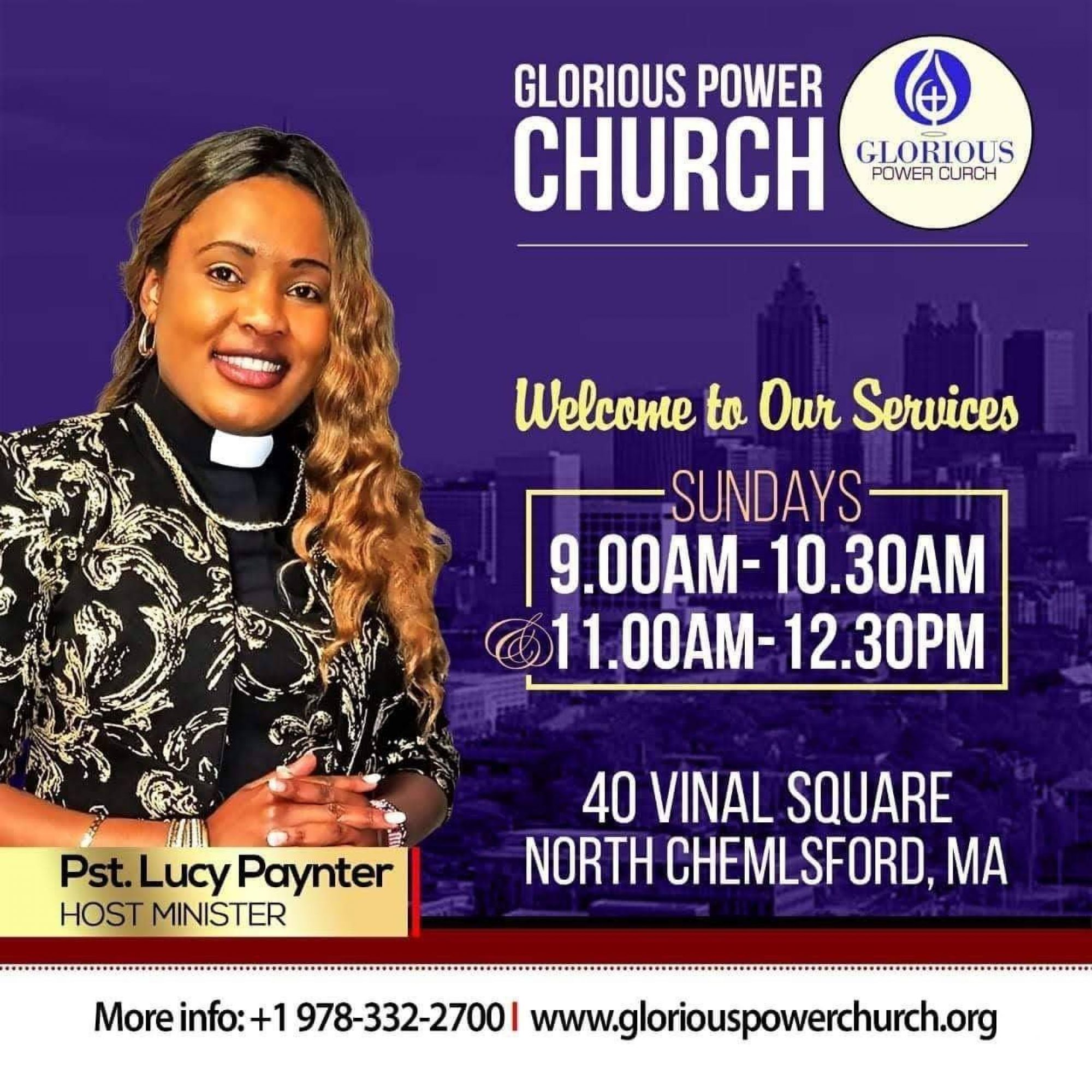 Pastor  Lucy Paynter